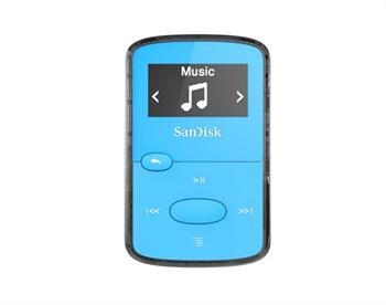נגן קליפ ג'אם כחול Sandisk Clip JAM MP3 Plyer 8GB Blue