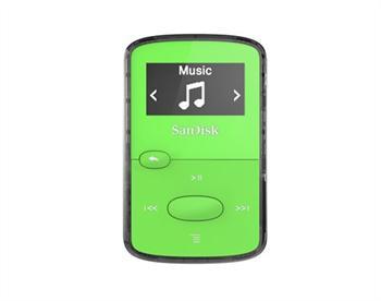 נגן קליפ ג'אם ירוק Sandisk Clip JAM MP3 Plyer 8GB Green