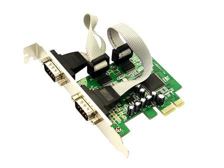 כרטיס הרחבה סיריאלי Gold Touch SE-PCIE-2S RS232 PCI Express Card 2 Pots Serial