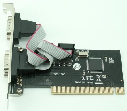 כרטיס הרחבה סיריאלי Gold Touch SU-PCI-232-2 PCI Card 2 Ports Serial RS232
