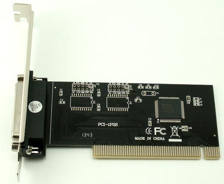 בקר הרחבה למדפסת פרלל Gold Touch SU-PCI-PARALLEL 1 Parallel/LPT Port PCI Adapter