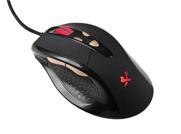 עכבר חוטי מקצועי לגיימרים קימרה בעיצוב ארגונומי Kimera X2-M4007-USB Gaming Mouse Up To 2400DPI Ergonomic design