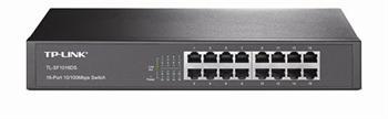מתג לא מנוהל 16 ערוצים TP-Link TL-SF1016DS 16-port 10/100Mbps