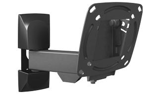 זרוע ברקן 3 תנועות סיבוב בקיר,סיבוב במסך,והטייה עד 26'' barkan E130