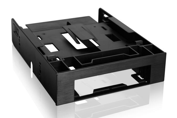 מגירה לדיסק קשיח Icy Dock Dual Bay 3.5'' Floppy+2.5'' Convert  Bracket