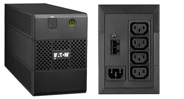 אל פסק ומייצב מתח Eaton 5E 650i 650VA USB Line Interactive