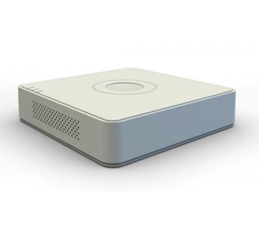 מערכת הקלטה עצמאית עם מתג מובנה ל 4 מצלמות HikVision NVR IP Standalone 4Port 1U Mini 500GB HDMI