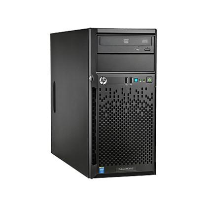 שרת HP Proliant ML10 V2 Intel Xeon E3-1220 V3 3.10Ghz 8GB RAM 2X1TB RAID Free Dos