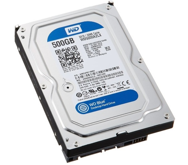דיסק קשיח ווסטרן דיגיטל Western Digital WD5000AZLX 500GB SATA3 32MB 7200Rpm Caviar Blue