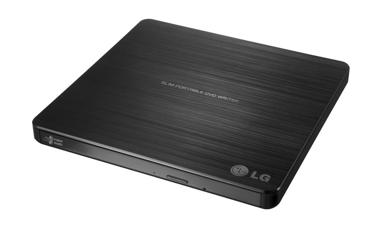 צורב חיצוני דק LG SP60NB50 8x DVD±RW DL USB 2.0 Slim