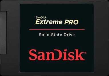 דיסק קשיח פלאש סנדיסק Sandisk SSD Extreme Pro 960GB 2.5'' SATA3 550/520 MB/s 7mm