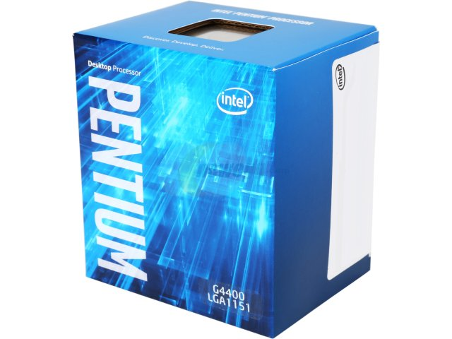 מעבד דור 6 אינטל 2 ליבות Intel Pentium Dual Core G4400 3.3GHz 3MB LGA1151 2 Cores Box