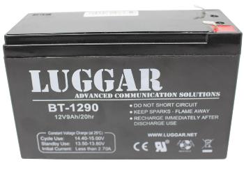 סוללה בטרייה מקורית לאלפסק Lugger Battery For UPS Battery 12V-9A