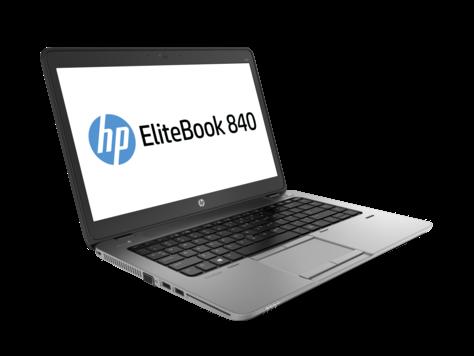 מחשב נייד מסך מגע מוחדש HP 840 Elitebook Intel Core i7-4600U 3.3Ghz 14'' HD 8GB RAM SSD 240GB HDD Win10 Pro Silver-Black