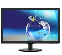מסך מחשב דק רחב פיליפס Philips 223V5LHSB2 21.5'' Full HD 1:10,000,000 5ms LED VGA+ HDMI