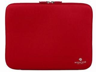 תיק עטיפה למחשב נייד Miracle NS-021 Stylish Collection 14.1'' Red