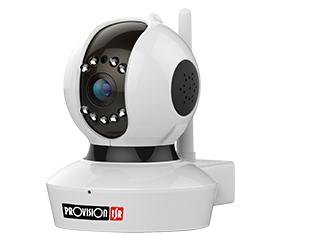 מצלמת IP אינטרנט ממונעת אלחוטית יום לילה Provision PT-737E 1Mega Pixel 300Mbps Wireless 802.11n Pan/Tilt PTZ IP Camera
