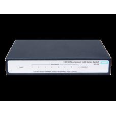מתג לא מנוהל HP JH329A Switch 1420-8G Gigabit 10/100/1000Mbps Switch 8Port