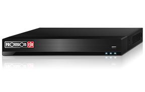 מערכת אבטחה הקלטה פרוויז'ין עצמאית ל-4 מצלמות אנליטיקה בסיסית כולל מתח לכל מצלמה Provision NVR5-4100PX+ (MM) 5Mega Pixel PoE NVR 1TB Standalone IP