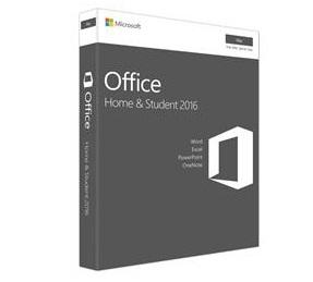 תוכנת מיקרוסופט אופיס סטודנט עברית למק Microsoft Office Mac Home & Student 2016 Hebrew Medialess