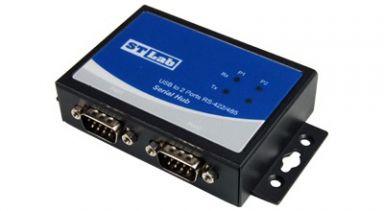 ממיר STLAB IU-110 USB 2.0 to RS422/RS485 X2 Adapter with speeds up to 1Mbps + Auto Detect and Switching