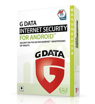 תוכנת אנטי וירוס לסמארטפון אנדרואיד לשנה אחת G-DATA Antivirus Mobile For Android