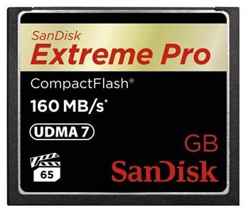 כרטיס זיכרון סאן דיסק SanDisk Extreme Pro Compact Flash 32GB