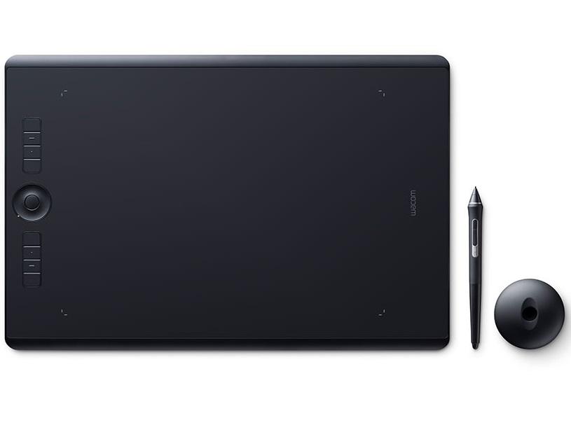 לוח כתיבה אלקטרוני וואקום Wacom Intuos Pro Paper Medium PTH-660P-N USB