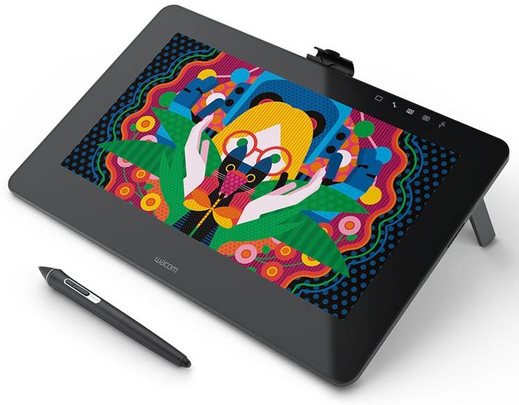 לוח כתיבה אלקטרוני מסך אינטראקטיבי Wacom DTH-1320-EU Cintiq Pro 13 Full HD, EU