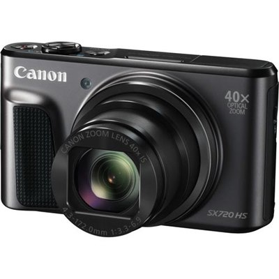 מצלמה דיגיטלית קנון 20 מגה פיקסל בעלת צג Canon PowerShor SX-720 HS Full HD Wi-Fi LCD