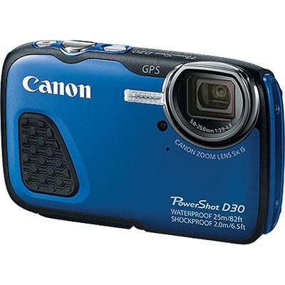 מצלמה דיגיטלית + וידאו קנון Canon PowerShot D-30 12 Mega Pixel Full HD