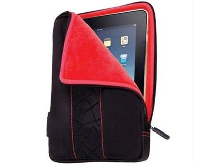 מארז יוקרתי מרופד מיוחד לטאבלט אדום Miracase MA-003BL iPAD 9.7'' Black Red