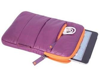 מארז לטאבלט ניילון מרופד סגול Miracase NS-057PU iPAD 7.9'' Purple