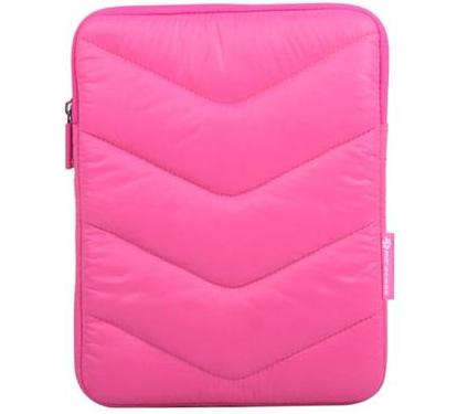 תיק צד לטאבלט ניילון מרופד כולל תאים ורוד Miracase NS-067P iPAD 7.9'' Pink