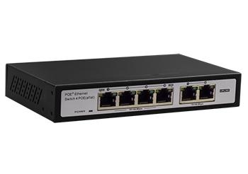 מתג שולחני 6 פורטים פרוויז'ן Provision PoES-0460+2 10/100Mbps 30W(POE+) Switch