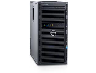 שרת דל DELL PowerEdge T130 Intel Xeon processor E3-1220 V5 16GB 2x1TB SATA