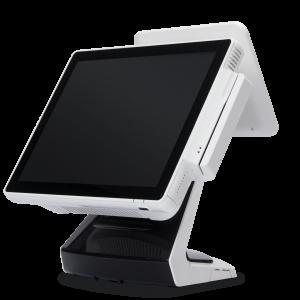קופה רושמת ממוחשבת מסך מגע וצג לקוח VFD קורא כרטיסי אשראי OKPOS Z-9000 15'' Touch Monitor Intel Dual Core J1900 2.42GHz 2GB RAM 64GB SSD Win7