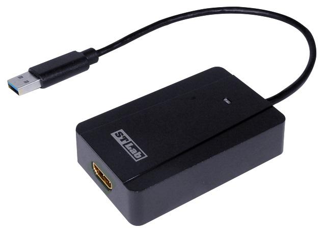 כרטיס מסך חיצוני מתאם USB למסך ST Lab U-1510 USB 3.0 To HDMI Adapter