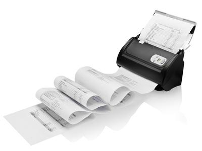 סורק מהיר דופלקס כולל מזין לכרטיסי אשראי, תעודות זהות, שקים וכרטיסים פלסטיים אחרים פלוסטק Plustek SmartOffice PS3060U USB 600dpi