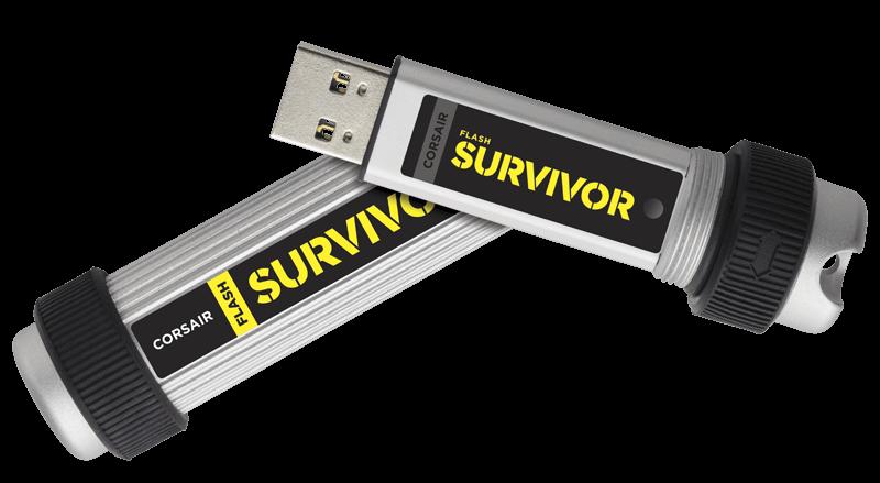 זכרון נייד פלאש Corsair Flash Drive 64G Survivor Stealth USB3.0