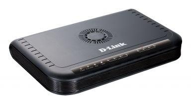 נתב ראוטר עם 4 יציאות וראוטר מובנה D-Link DVG-5004S VOIP Station Gateway 4 Port 4X FXP + 4X LAN