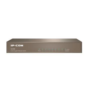 מתג לא מנוהל שולחני8 ערוציםIP-COM G1008 8-port 10/100/1000Mbps