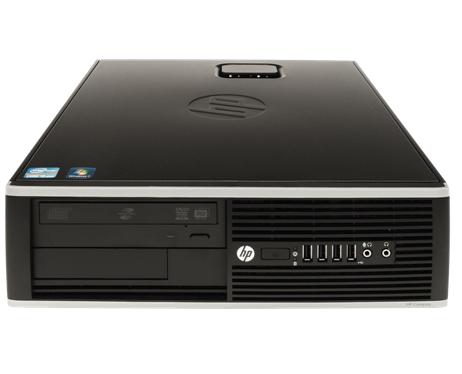 מחשב נייח מותג מחודש HP Compaq 8200 Elite SFF Intel Dual Quad i5-2520M 3.2GHz 4GB 250GB Win 7 Pro