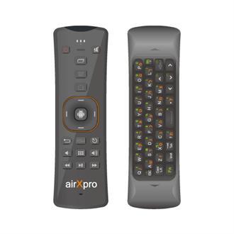 שלט אלחוטי משולב מקלדת לסטרימרAirxpro AM805 2.4Ghz Wireless AirMouse