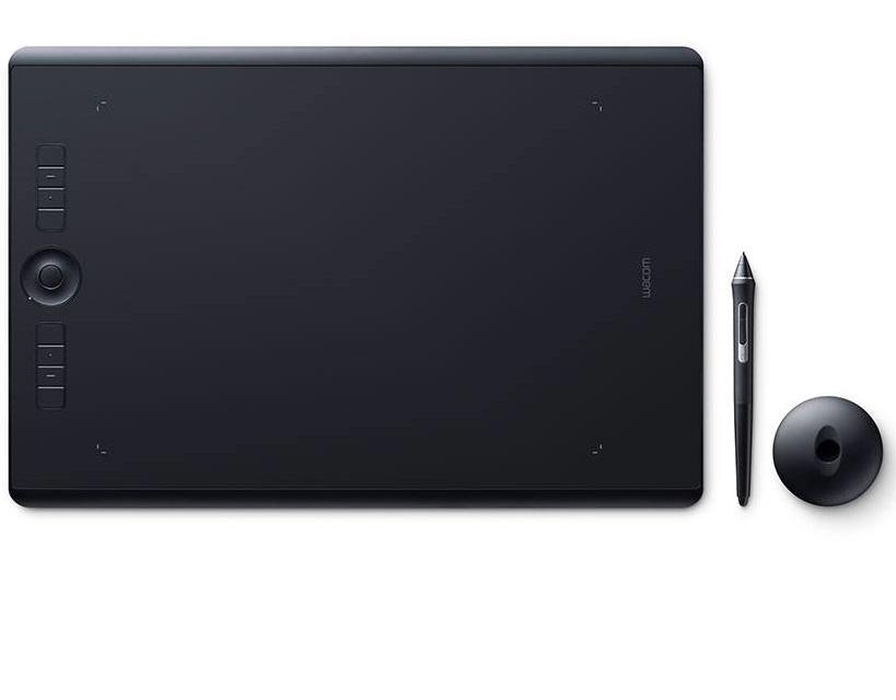 לוח כתיבה אלקטרוני לאמנים ומעצבים וואקום Wacom PTH-860-N Intuos Pro Large