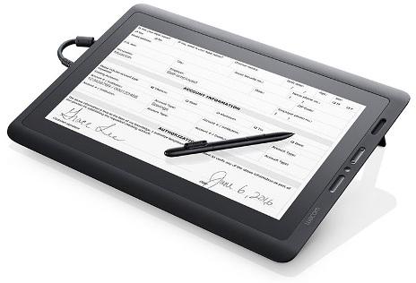 לוח לחתימה דיגיטלית מסך אינטראקטיבי Wacom DTK-1651 15.6'' Interactive Pen Display