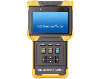 מוניטור מסך טכנאים בדיקה וכיוון מצלמות אנלוגיות ודיגיטליות Scansys CCTV M-TM-CVI-T62  HD Combine Tester 4'' TFT LCD / AHD /IP / TVI