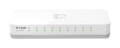 מתג לא מנוהל שולחני דילינק D-Link DES-1008C 8-Port Desktop Switch unmanaged, desktop