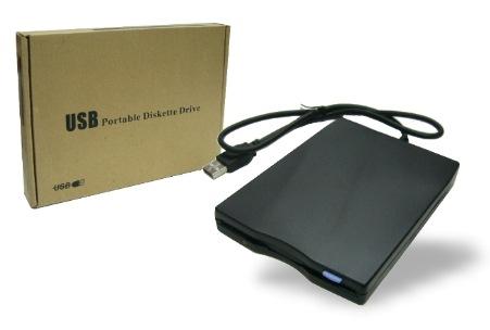 כונן דיסקטים פלופי חיצוני נייד Gold Touch E-USB-FDD Floppy 1.44 External USB Portable