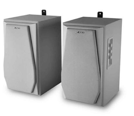 רמקולים מוגברים לתליה על קיר Fenda R223W Speaker 32W RCA White
